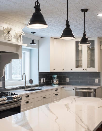 Kitchen Designed by Cambria