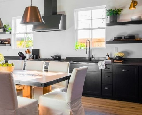 Dark Kitchen Cabinets by StarMark