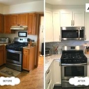 Custom Kitchen Remodel with Modern Stove